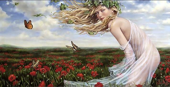 Primavera - Lauri Blank e suas pinturas cheias de emoções