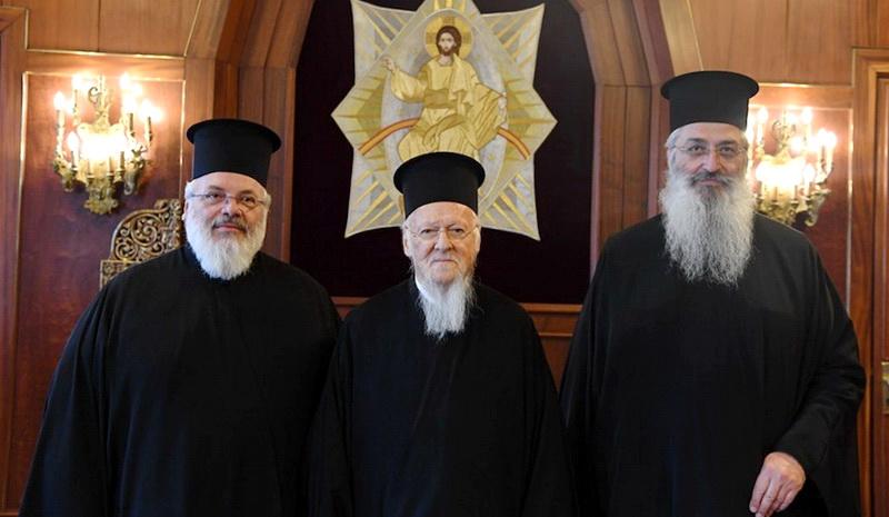 Τον Οικουμενικό Πατριάρχη κ. Βαρθολομαίο επισκέφθηκαν οι Μητροπολίτες Διδυμοτείχου και Αλεξανδρουπόλεως