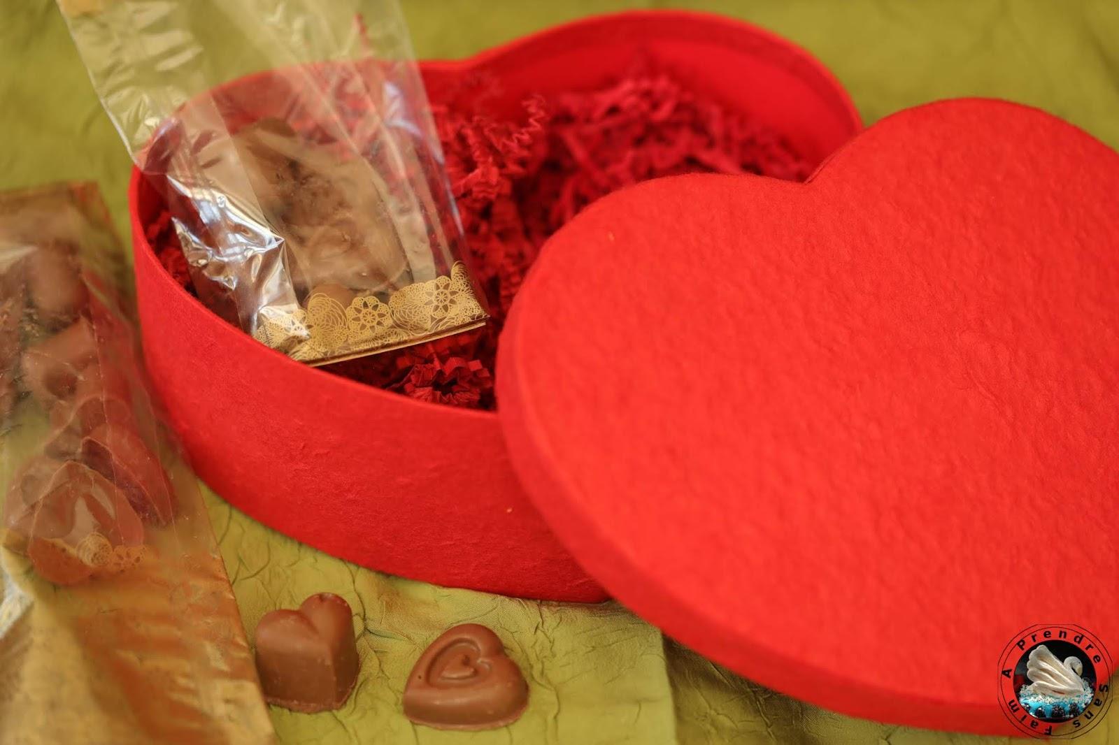 Chocolats de Saint-Valentin à offrir