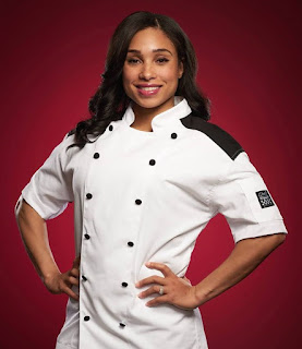 elise harris was from newburyport massachusetts and she competed in season 9 where she came in 3rd place she was eliminated from hells kitchen in - Hells Kitchen Season 17