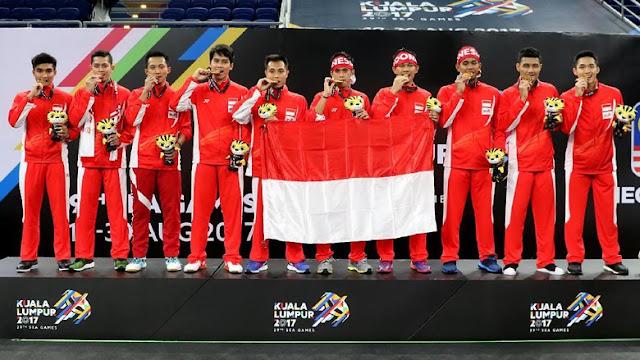 Ini 15 Cabor Target Emas Indonesia di Asian Games 2018