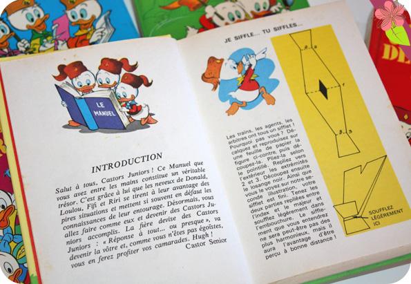 Manuels des Castors Juniors - Walt Disney