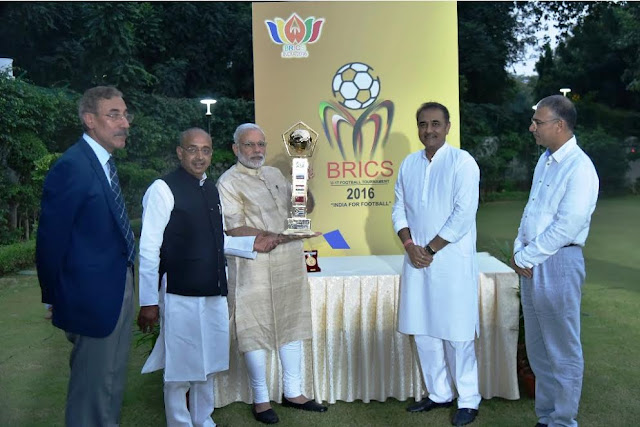 BRICS U-17 Football Tournament