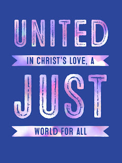 United in Christ's love, a just world for all.