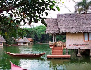 lokasi wisata kampung sampireun garut