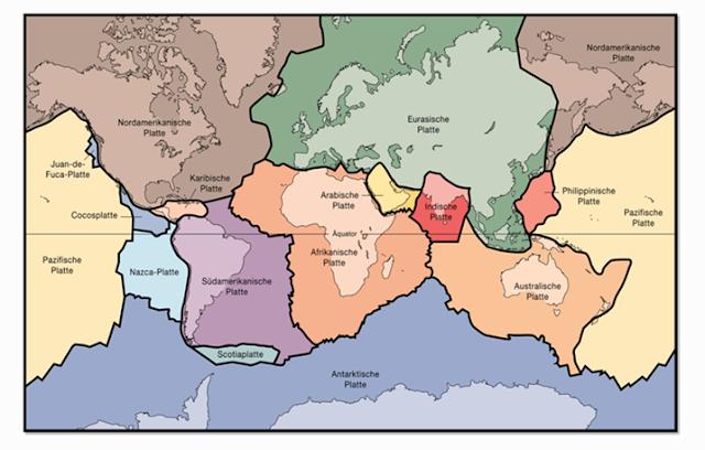 Lempeng Bumi : Pengertian dan Teori Pembentukannya