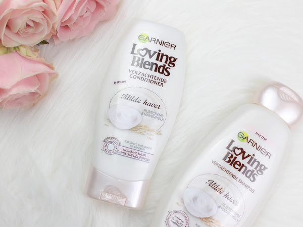 Currently Loving: Garnier Loving Blends milde haver shampoo & conditioner