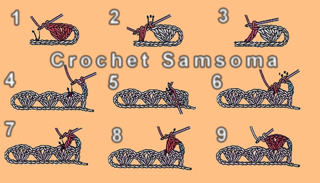 الدرس 12; طريقة عمل غرزة الصدفة shell stitch. كروشيه غرزه الصدفه. :غرزة الصدفة shell stitch . كروشيه شرح غرزة الصدفة.