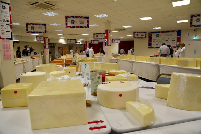 British Cheese Awards at the Bath and West Show