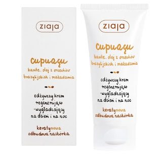 Ziaja Cupuacu  odżywczy krem regenerująco-wygładzający na dzień i na noc