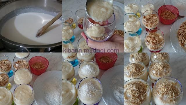 sütlü irmik tatlısı tarifi sütlü irmik tatlısı nasıl yapılır