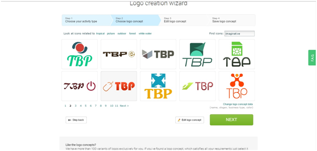 Logaster Logos hundreds of available options