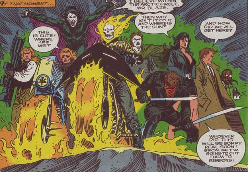 siapa Vengeance adalah Rekan Ghost Rider dan Anggota Midnigt Sons