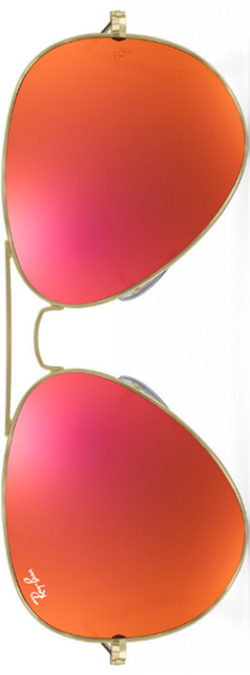 Ray-Ban Aviator Orange Flash