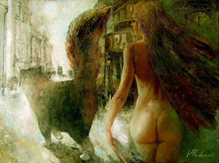 Российский художник. Валерий Буданов