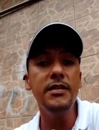 Juninho posta vídeo no Facebook falando sobre honestidade do menino que lhe vendeu uma rifa em Registro-SP