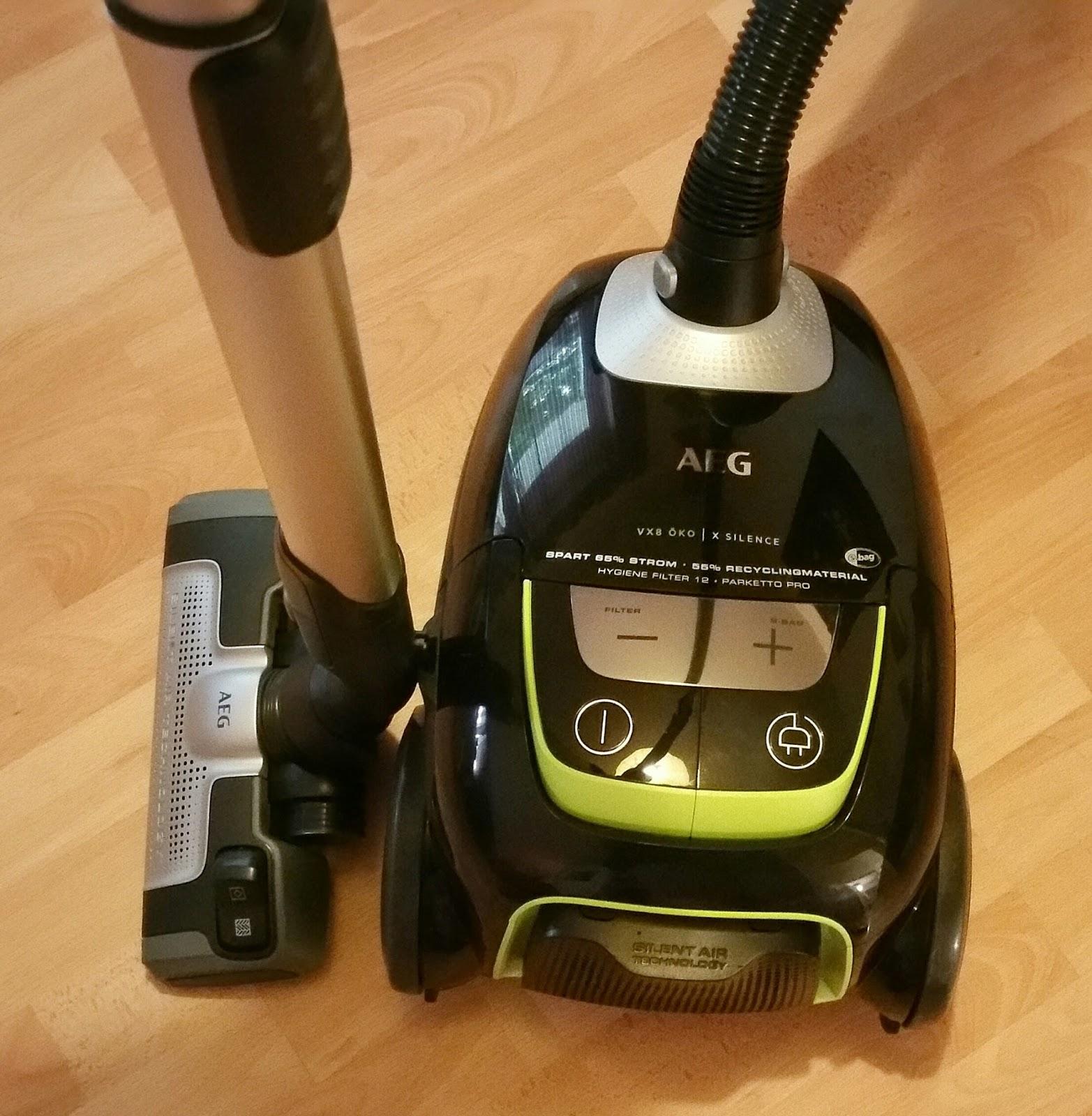 Mary's Blog: Produkttest AEG UltraSilencer VX8 ko
