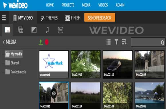 software video editing wevideo