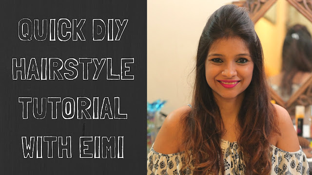 DIY Hairstyle Tutorial Using EIMI Products