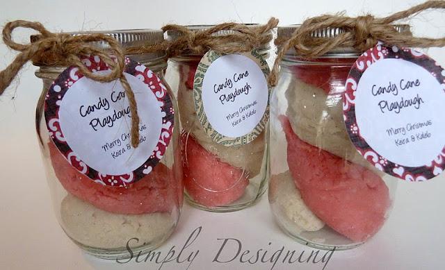 playdough+04 Christmas Kid Craft: Candy Cane Playdough 9