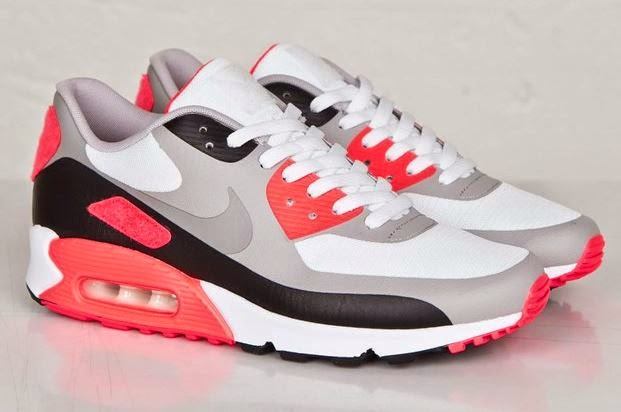 38012b57459a9 Here is a detailed look at the Nike Air Max 90 Infrared