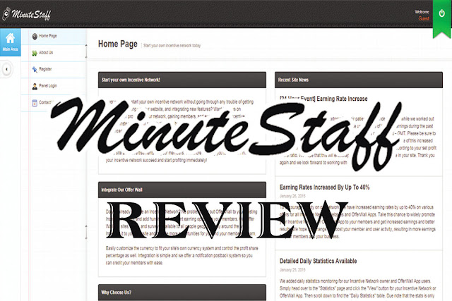 Minutestaff review