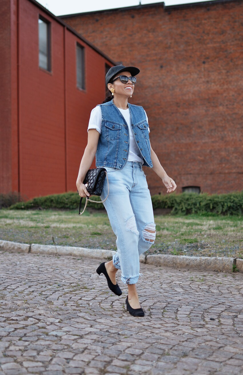 Light wash denim trend