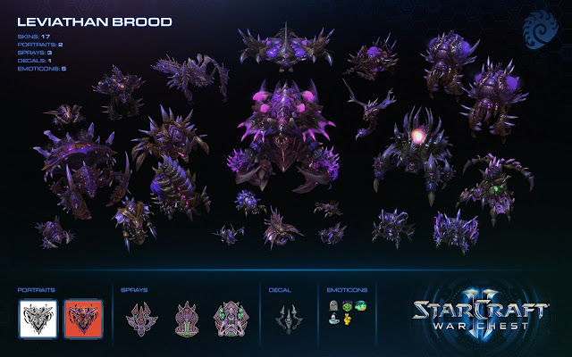 Se concretan detalles del botín de guerra de StarCraft II