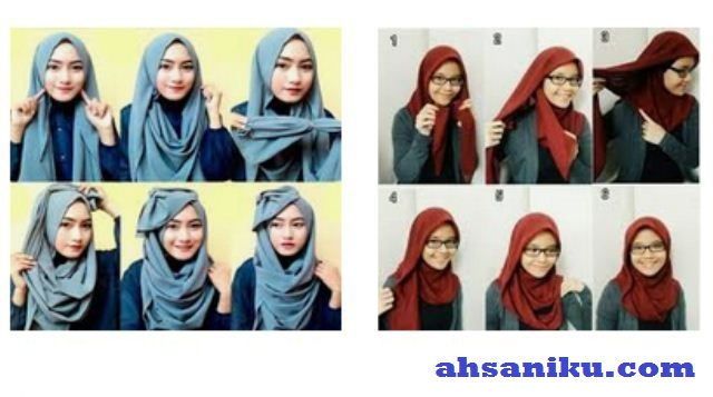 Cara Memakai Hijab Segi Empat untuk Bekerja