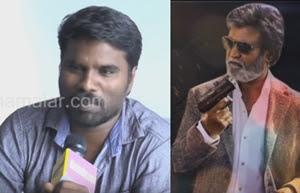 I Started Crying when i saw Superstar Rajini, says Kabali Film Art Director Ramalingam