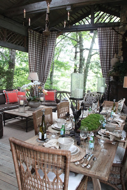 Friday favorites 1 dimples and tangles for Rustic porches and decks
