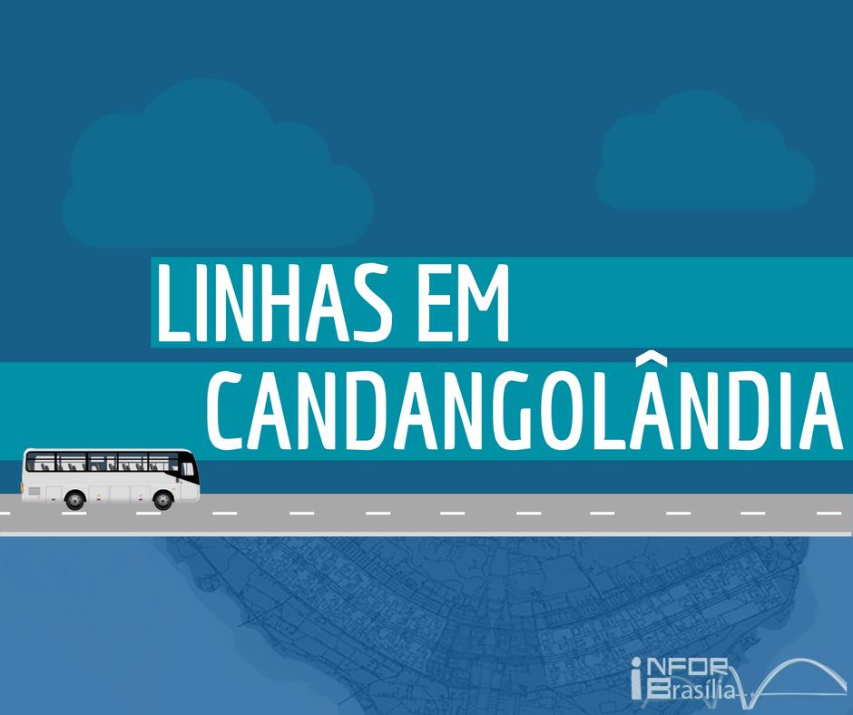 Horário de ônibus das linhas da Candangolândia