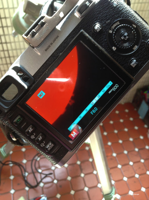 Solarmax II 40 H-alpha filter 搭配Pentax 75SDHF 的接法
