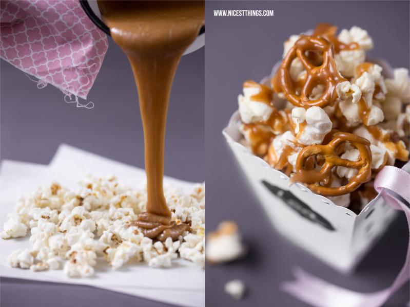 Popcorn mit gesalzenem Karamell Rezept