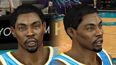 NBA 2K13 Roger Mason, Jr. Cyberface Patch