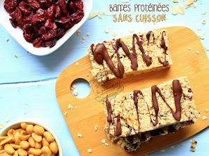 Barres protéinées végan et sans cuisson !