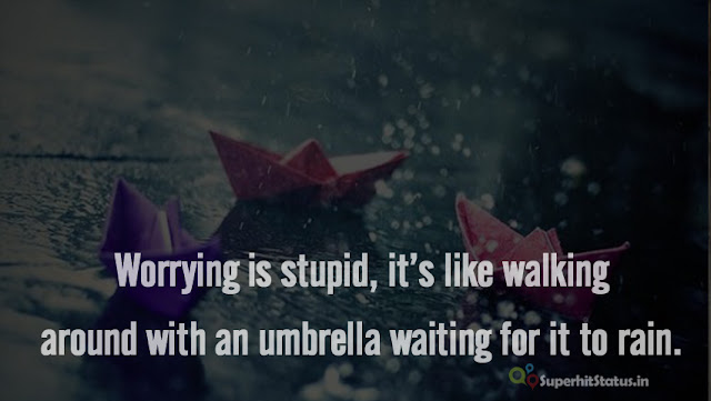 Beautiful Rain Unique Whatsapp Status - Quotes in English