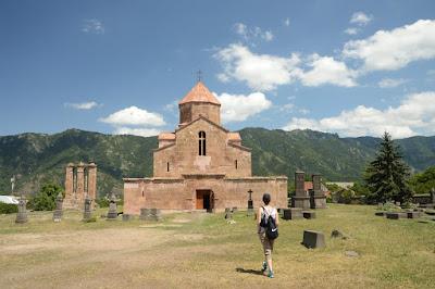Imagen del monasterio de Odzun