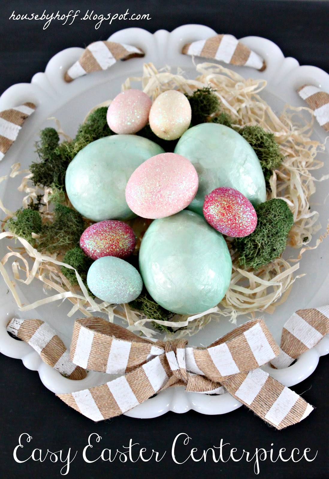 An Easy Easter Centerpiece House By Hoff