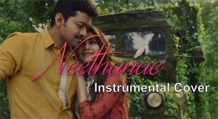 Mersal – Neethanae Instrumental Cover | The Fiddle and The Keys | Vijay | A R Rahman | Atlee