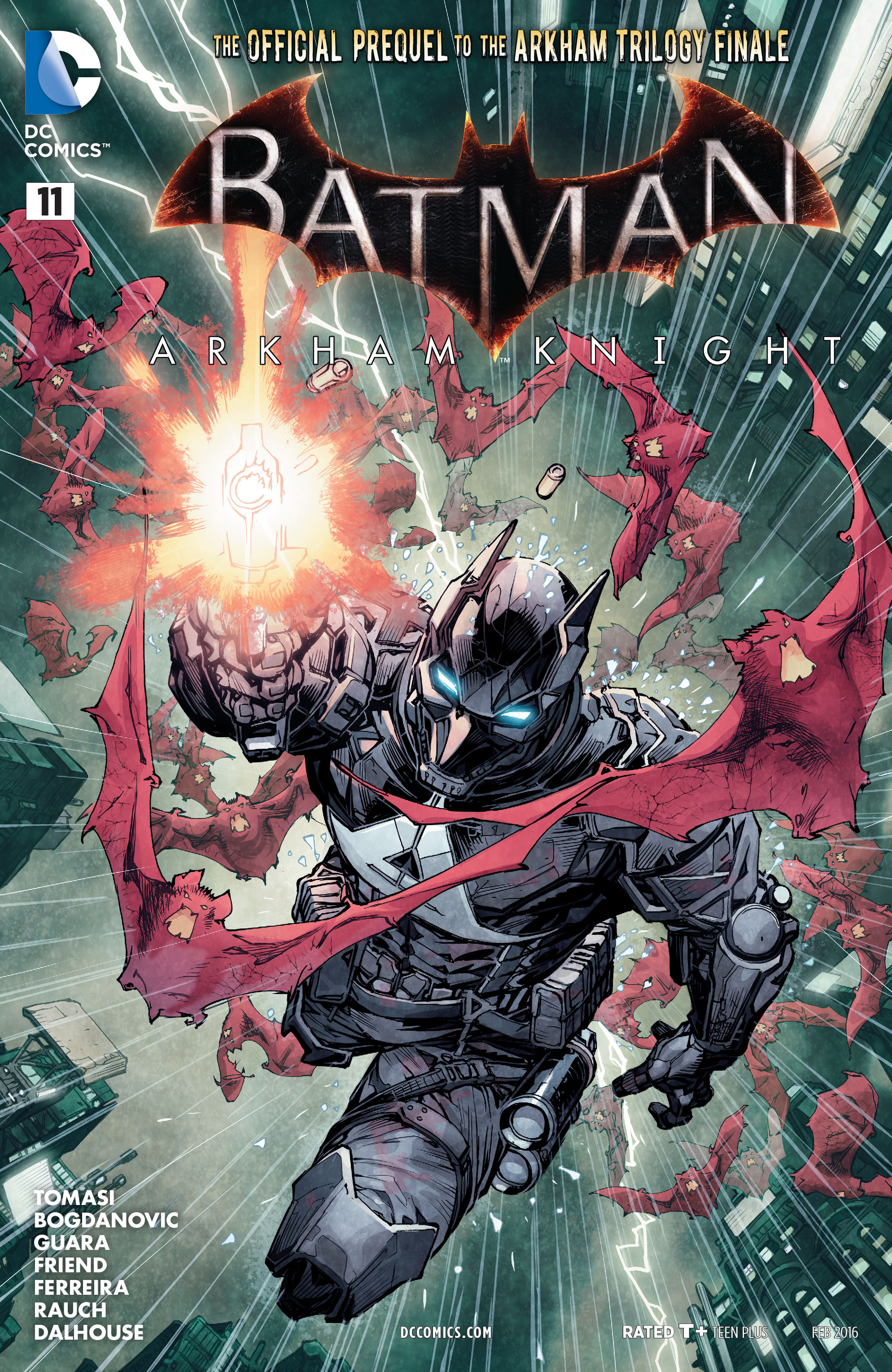 Batman: Arkham Knight [II] 11 Page 1
