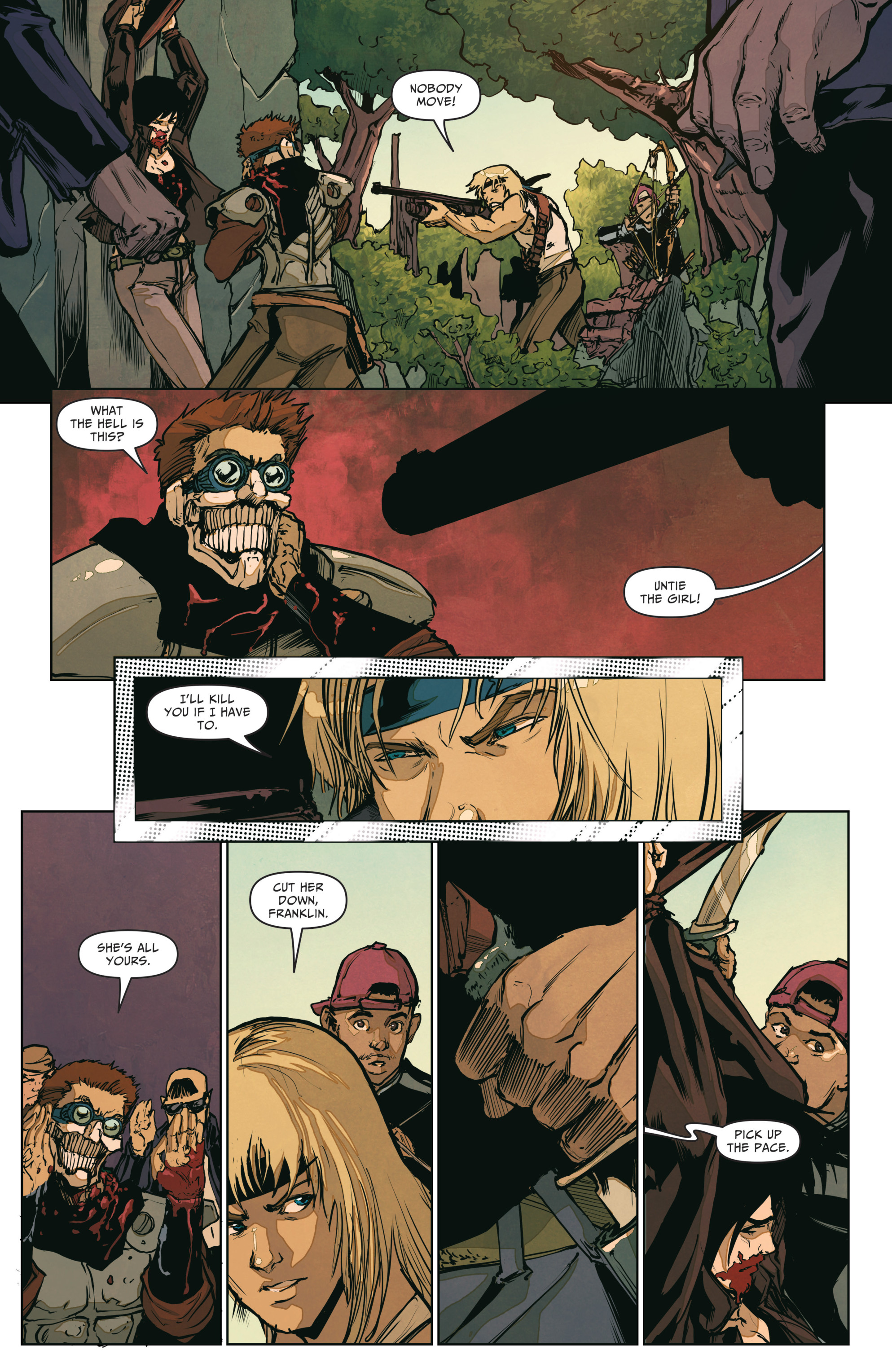 Read online The Courier: From the Ashes comic -  Issue #3 - 8