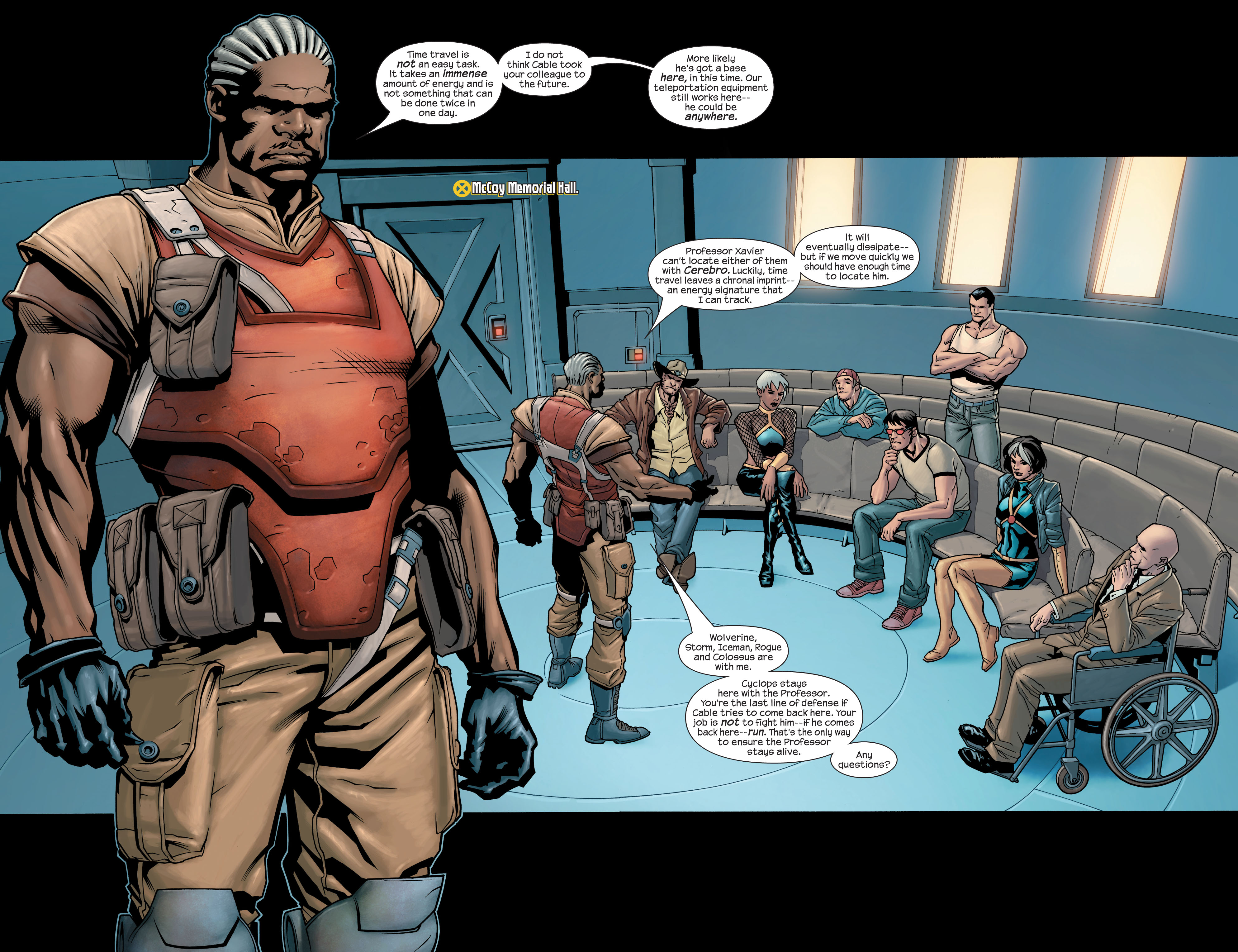 Read online Ultimate X-Men comic -  Issue #77 - 7