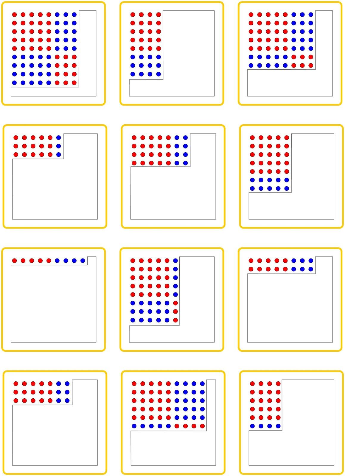 Einmaleins  Quadratzahlen  GrundschuleKAPIERT