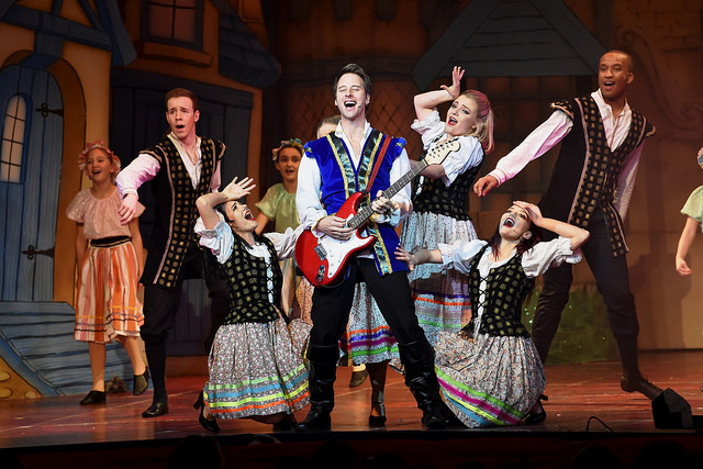 Snow White pantomime at Worthing Theatres with Chesney Hawkes