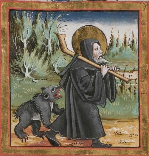 Old European culture: St Gall and the bear