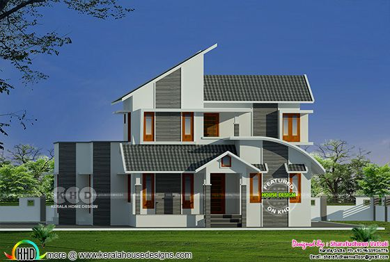 1118 sq-ft 2 bedroom home plan