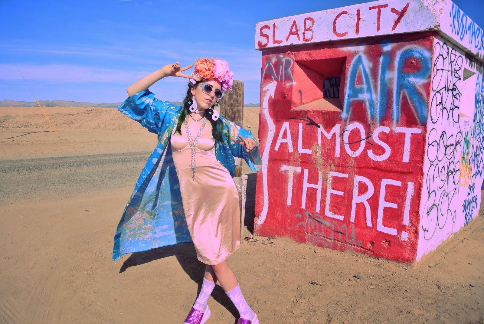 Salvation Mountain Dessert Of The Desert Glitterous Clitoris