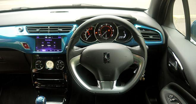 DS 3 cockpit