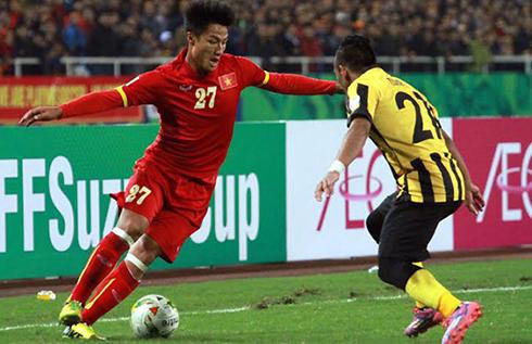 Trận đấu quyết định giữa Việt Nam và Malaysia.